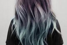 • CHEVEUX • / de la couleur et du cheveux
