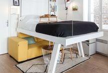 // BED UP CREATEUR D'ESPACES // / Bed Up est une marque Française basée à Paris, créateur et concepteur de lits escamotables qui libèrent l'espace au sol pour aménager les petits espaces.