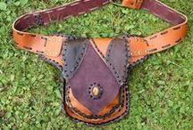 ShantiShantiboutique - utility belts and fanny packs / Handmade Leather belts and bags - Shantishanti leather utility belts and festival fashion accessoiry