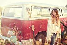 bohemian + gypsie fashion and art