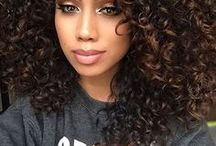 Curly Hair and Beauty