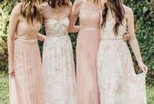 Madrinhas de Casamento / Para madrinhas e noivas se inspirarem e arrasarem no grande dia.