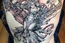 Miss Heidi's Tattoo Gallery
