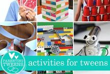 Banish the Boredom / Ideas for keeping Tweens busy and active.