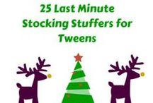 2013 Holiday Gift Guides for Tweens / Tweenhood's holiday gift guides for 2013, with gift ideas for kids ages 8-12.