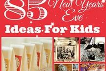 Ringing in the New Year / New Year's Eve celebration and decoration ideas.