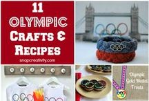 The Olympics / Everything Olympics - from inspiring stories to Olympic-themed crafts and ideas for Olympics viewing parties to Olympic fashions.