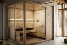 Finnish Saunas / Finnish Sauna (or Dry Sauna) is a treatment involving very hot dry air, which is carried out in a natural wood cabin.  In this board you can discover the Finnish Sauna world and our Finnish Saunas range.