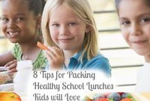 School Lunches and Snacks / School lunch ideas and tips for getting tweens involved in making their own lunches and eating healthy lunches.