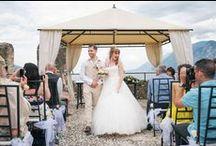 Malcesine Castle Wedding / Katie & David's Beautiful wedding on the banks of Lake Garda, Italy.