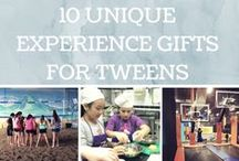 2014 Holiday Gift Guide for Tweens / A selection of gift guides and gift ideas for tweens. #GiftGuide #tweens #giftswelove
