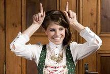 """SHE DOES / Die Dirndl- und Trachten-Designerin Sabine Deml fertigt in Bayern unter ihrem Label """"She Does"""" originelle Trachten für Sie und Ihn.  Mehr in unserem Blog: http://www.onlinetrachten.de/she-does/"""