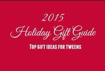 2015 Hot Holiday Gift Ideas for Tweens / Top gift ideas for tweens from Tweenhood.ca
