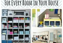 Get Organized / We know you're busy, time is precious. Here are ideas on how to get more organized and productive at home.