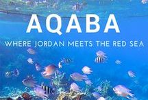 Jordan / Travel tips and travel inspiration for Jordan, including Wadi Rum, Petra, Aqaba and Amman. Visit NotWithoutMyPassport.com for more!
