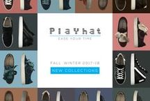 Playhat - New Collections AI 2017-18 / Playhat Snatch style matches comfort to a trendy design, urban and easy chic. Playhat Snatch Styles are manufactured with premium quality materials according to long-standing crafts and skills handed down for centuries from one generation to another, the result is an unmatched product.