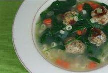 Appys - Soups - Salads / by D