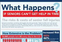 Senior Health - Medical Infographics / Useful stats about senior living, senior health and  Medicare. For more stats and senior living articles, check out our blog: http://www.bayalarmmedical.com/medical-alert-blog/ / by Bay Alarm Medical