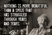 Senior Wisdom / Wonderful, inspiring quotes about life and aging gracefully.   For senior living articles and tips, check out our blog: http://www.bayalarmmedical.com/medical-alert-blog/ / by Bay Alarm Medical