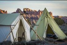 Under Canvas® Moab / Under Canvas® is located on 40 acres 7 miles north of Moab, Utah, just moments away from the entrance to both Arches National Park and Canyonlands National Park. With views across the desert towards Arches, the camp blends into its dramatic surroundings where deep canyons and towering plateaus create a raw landscape of immense power. Our luxurious tents offer guests the opportunity to enjoy Utah's spectacular desert without giving up the comforts of home. This is camping as it should be.