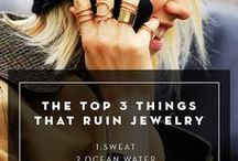 Jewelry Care & Styling Tips / Tips for all things jewelry.  How to take care of your jewelry, how to clean your jewelry, ideas for mixing & matching your jewelry with your favorite styles.