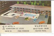 Motel Post Cards / Vintage Motel and Hotel post cards