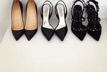 "Shoes / "" The average woman falls in love 7 times in a year. Only 6 are with shoes.""  -Kenneth Cole"