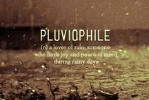 PLuviophiLe´´☂´´ / I like People Who Smile When  it´s Raining ...... :)