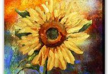 Blommor / #Blommor har länge fascinerat oss människor med dess #dofter, #färger och #utseende.  Kliv in i en #värld full av #fantasi, #kärlek och roingivande #oljemålningar som passar som utmärkt i ljusa moderna hem och kontor. En handmålad tavla ger alltid ett mer uttrycksfull intryck.