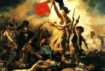 La pittura in Francia: Jean Auguste Ingres, Théodore Gericault ed Eugène Delacroix
