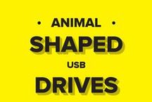 Animal Shaped USB Drives