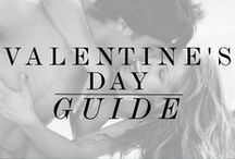 VALENTINE'S DAY GUIDE / A guideline to enjoying this Valentine's Day, whether with girlfriends, a lover or with yourself ;)    Flowers, pampering, candles & sexy lingerie make for a perfect Valentine's Day celebration!