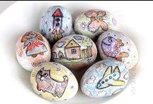 Поделки на Пасху. Поделки из яиц.