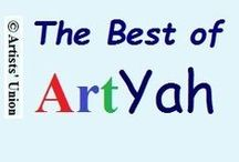 "The Best Of ArtYah! / Currently Closed to New Invitations_ _""The Best of ArtYah!"" Community Open Board   -   You are welcome to pin up to 3 items each time, ONLY from Your shop (double or more than 3 will be removed). Please, allow other 2-3 members to pin before you add again."