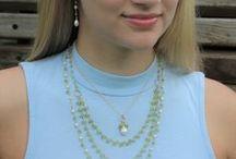 Birthstone Jewelry / Birthstone Jewelry by Jewel of Havana: Birthstone Necklaces, Birthstone Earrings, Amethyst, Pearl, Lapiz Lazuli, Peridot, Turquoise, etc.