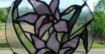 Tiffany glass decorations  /Tiffany üvegdíszek
