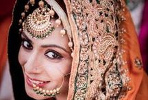 Indian Wedding Jewellery / Collection of pins of Jewellery / Jewelry for Indian Weddings. Bridal Jewellery