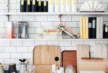 Nice and neat / Organize yourself to make your life easier. Organization and structure can also be stunningly beautiful. Some organization tips comes along.