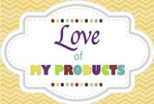 Love of My Products / http://www.teacherspayteachers.com/Store/Confessions-Of-A-Tiny-Teacher