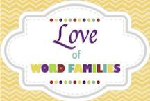 Love of Word Families