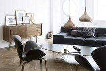 Modern Retro Remix / Mid-century modern. Classic style from the 50's and 60's, polished, shined and beautifully brought up-to-date.