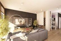 Projekt  wnetrza mieszkania w XIX dzielnicy w warszawie/ www.tissu.com.pl