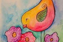 Bird art & bird cards / by Cindy Gilfillan