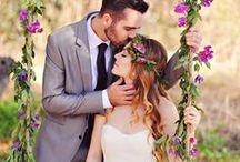Wedding Inspiration / Wedding dresses, wedding ideas and tips / by Eliza Monte