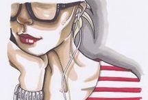 illustration / Illustrations, all types pentane work, digital art...