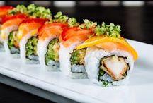 Il volto di Shinto / In questa bacheca metteremo in mostra il mondo Shinto, le sue prelibatezze e il modo ricercato e raffinato di presentare il nostro Sushi!