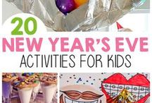 New Year | Activities for Kids. / Lesson plan inspiration, awesome activities, and links to time-saving products that will have your students engaged this New Years.