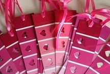 Valentine's Day | Ideas for Kids. / Simple crafts and activities for students to celebrate Valentine's Day. Includes tissue paper crafts, school party ideas, and scavenger hunt ideas.