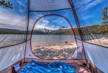 Tent views around the world / Views from tents of lucky travellers around the world  Photos prises depuis les tentes des chanceux campeurs autour du Monde, le camping sauvage sublimé