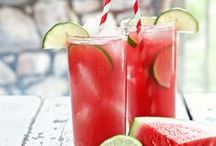 C O C K T A I L S / I'll just have one, or two, or ten! Cheeky cocktail ideas for your Summer event!